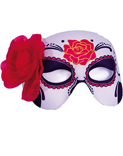 Womens Dia de los Muertos Half Mask – Day of the Dead Costumes