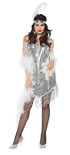 Swingin Adult Costume Silver – Medium