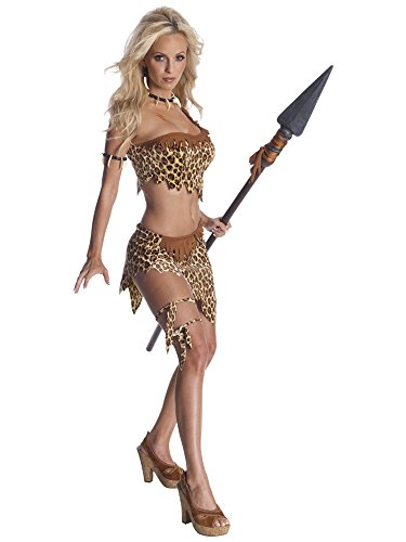 Secret Wishes Womens Tarzan Jungle Jane Costume, Leopard, Medium