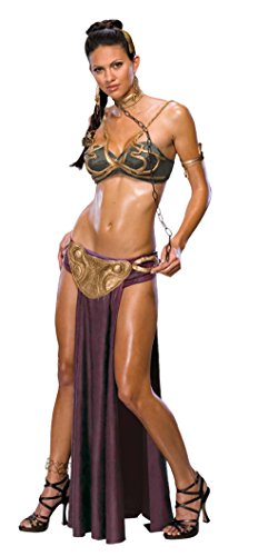 Rubie's Star Wars Jabba's Prisoner Princess Leia Costume, As As Shown, Extra-Small